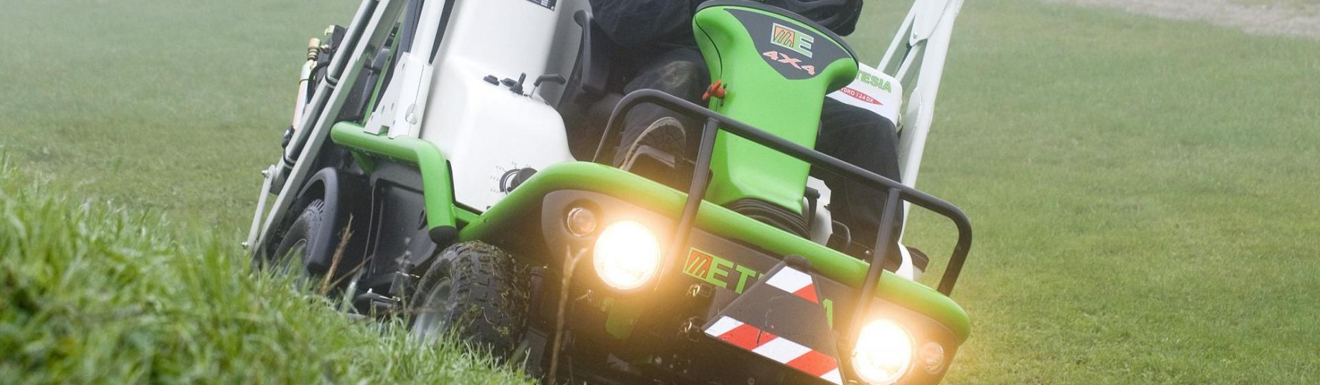 Hydro 124DX : Aufsitzmäher, Garten Traktoren Etesia