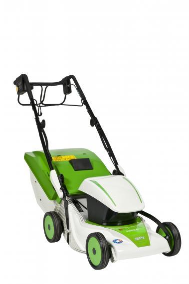 Rasenmäher Elektrischer Rasenmäher mit Antrieb: Duocut 41 der 3 in 1 Rasenmäher