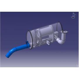 Russpartikelfilter - Ref.MFP124